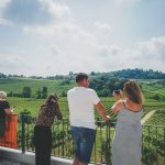 Prosecco hills in winery tour